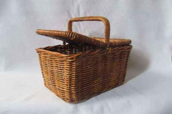 Rattan Picnic Basket