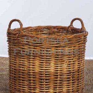 Squat Log Basket