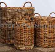 Short Log Basket