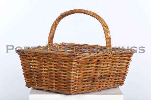 Tapered Rectangle Shopping Basket