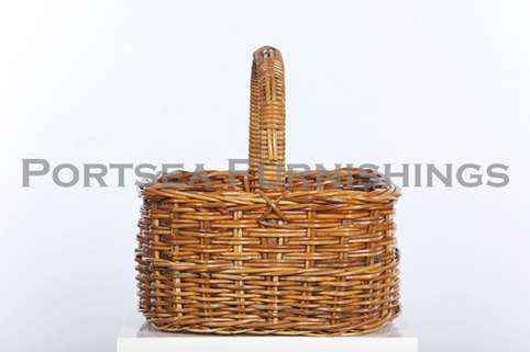 Deep Oval Shopping Basket