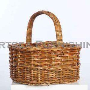 Deep Oval Shopping Basket