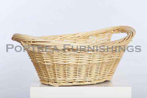 Oval Willow Wet Wash Basket