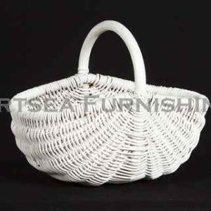 Oval Rattan Basket