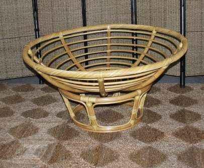 Papasan chair base