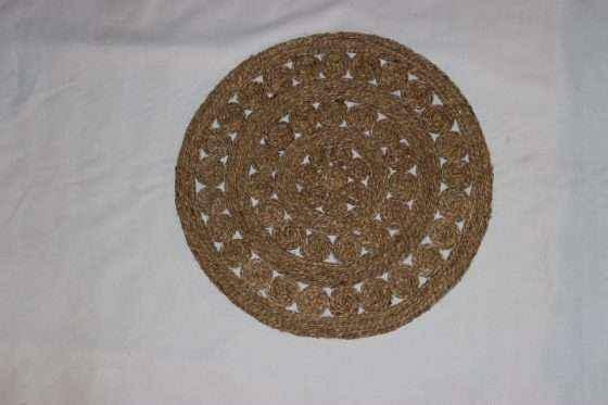 Round Seagrass Mat