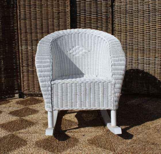 Torquay Childrens Rocking Chair - White