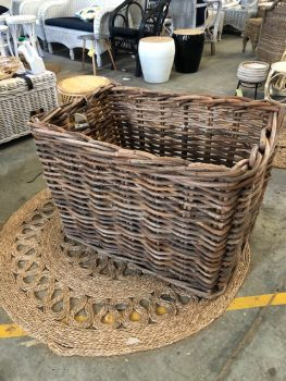 Rectangle Log Basket